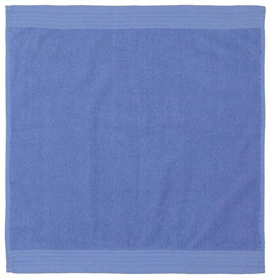 keukendoek - 50 x 50 - katoen - blauw - 5490046 - HEMA