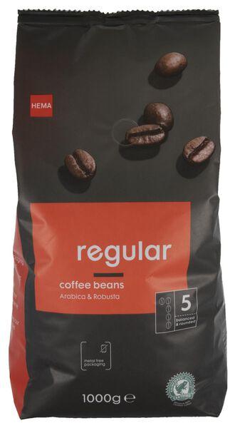 koffiebonen regular - 1000 gram - 17160001 - HEMA