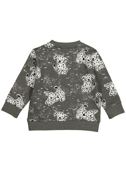 babysweater grijs grijs - 1000014262 - HEMA