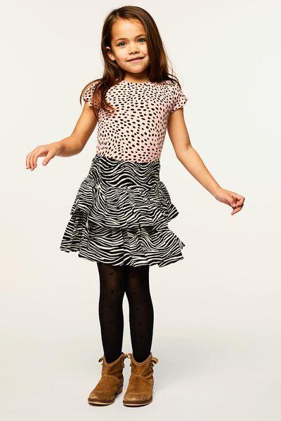 kinder t-shirt rib roze 134/140 - 30830766 - HEMA