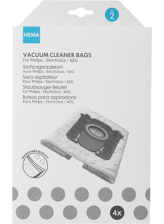 Image of Stofzuigerzakken Philips S-bag (wit)