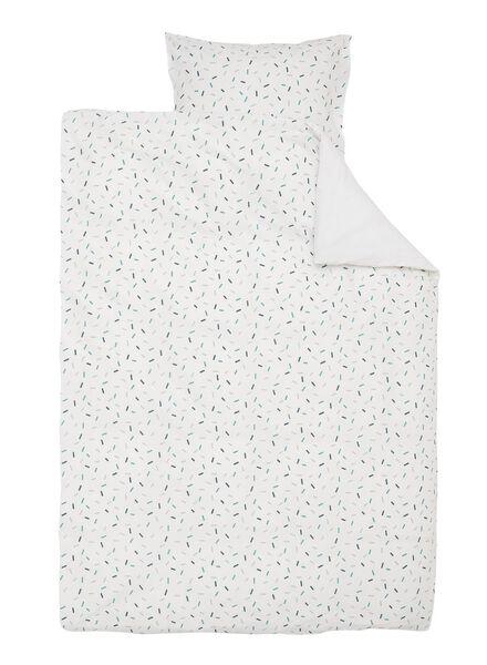 soft cotton dekbedovertrek 140 x 200 cm - 5700162 - HEMA