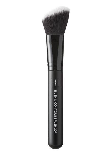 blush & contour brush 307 - 11201307 - HEMA