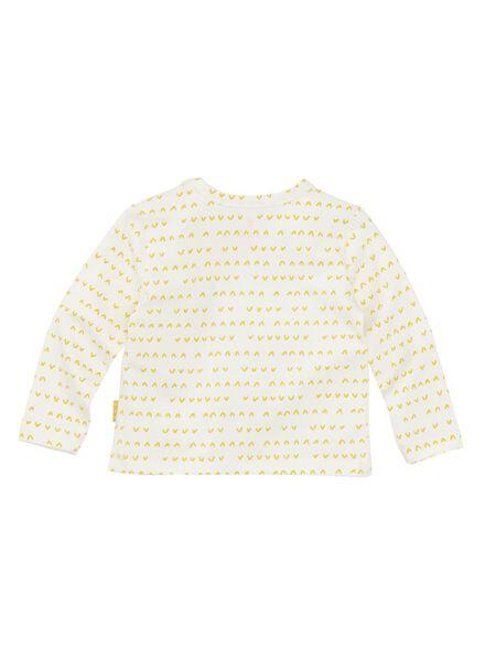 baby t-shirt gebroken wit gebroken wit - 1000008439 - HEMA