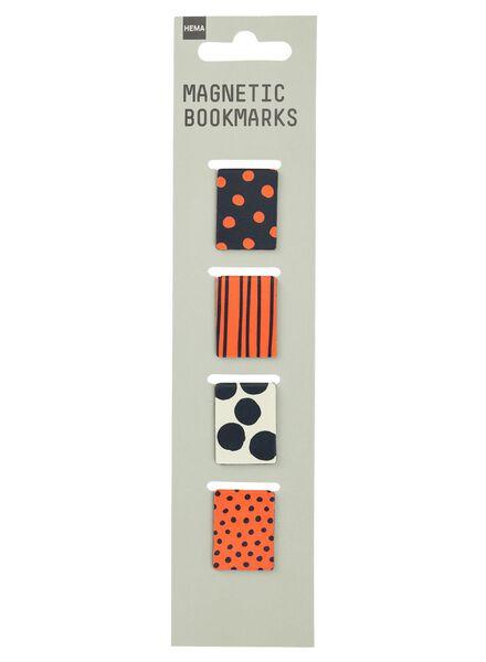4-pak magnetische bookmarkers - 14800133 - HEMA