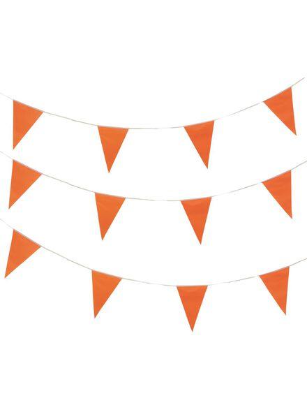 vlaggenlijn oranje 10 meter - 25200246 - HEMA