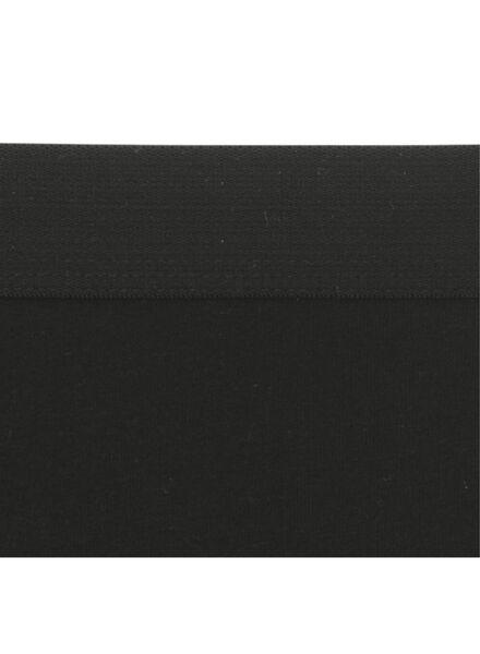 3-pak damesboxers zwart zwart - 1000006549 - HEMA