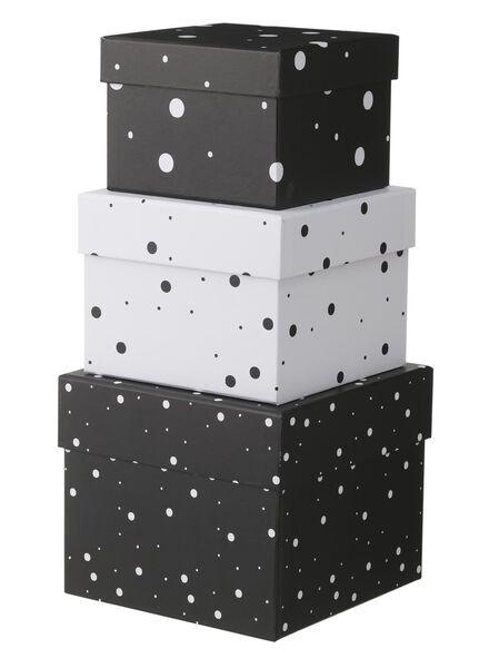 3-pak kartonnen dozen - 39882003 - HEMA