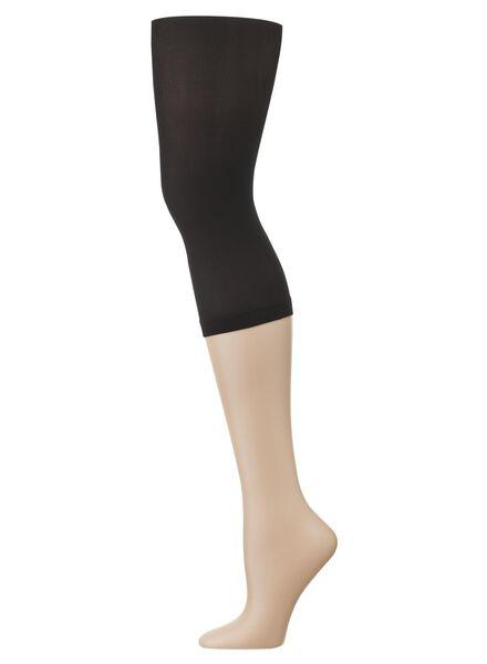 dames driekwart legging 40 denier zwart zwart - 1000001134 - HEMA