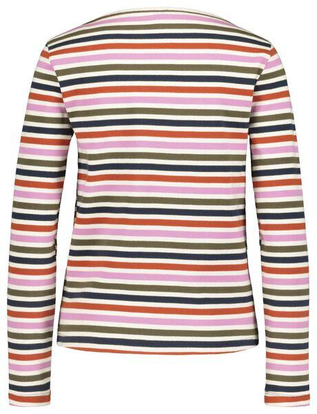 dames t-shirt multicolor multicolor - 1000018263 - HEMA
