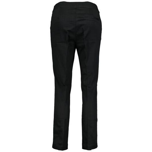 cropped damesbroek zwart zwart - 1000014322 - HEMA