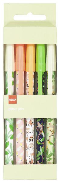 pennenset jungle - 5 stuks - 14590377 - HEMA