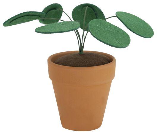 plant vilt in pot - 13211107 - HEMA