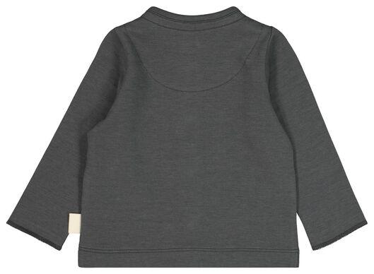 newborn vest grijs grijs - 1000021381 - HEMA