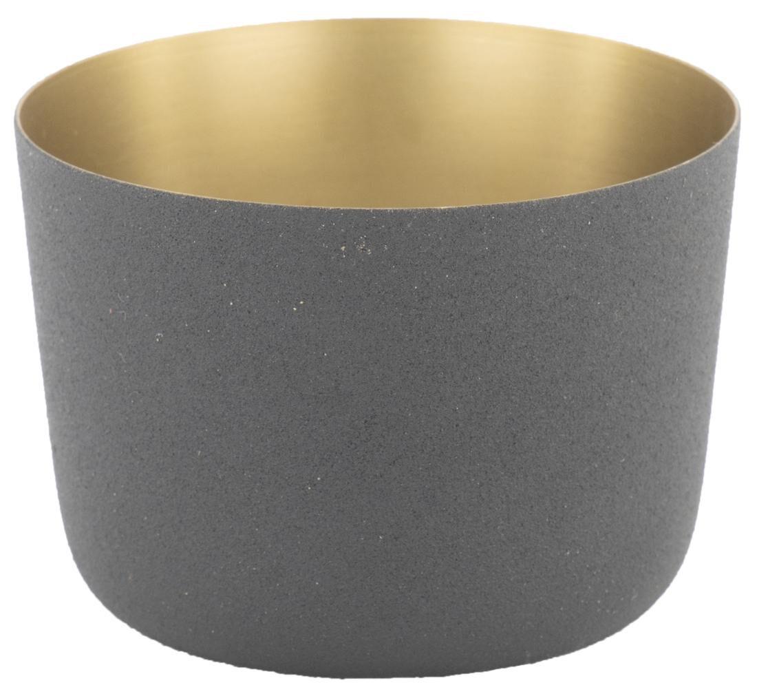 HEMA Waxinelichthouder Ø9.5x7 Metaal Zwart (zwart)