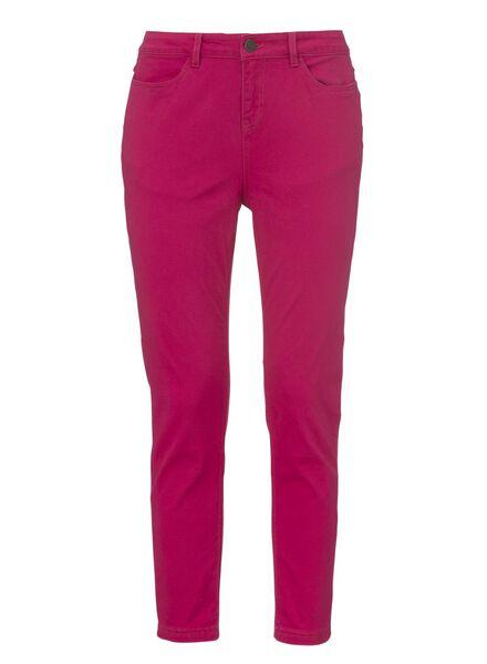 dames skinny broek roze - 1000006703 - HEMA