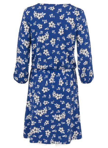 damesjurk kobaltblauw kobaltblauw - 1000008621 - HEMA