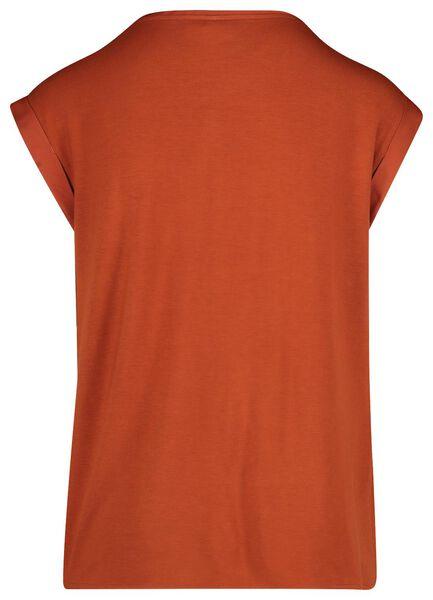 dames top bruin S - 36259219 - HEMA