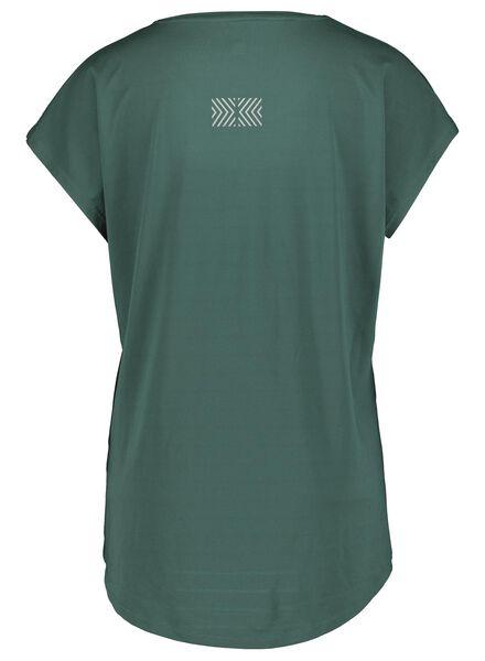 dames sportshirt donkergroen donkergroen - 1000015355 - HEMA