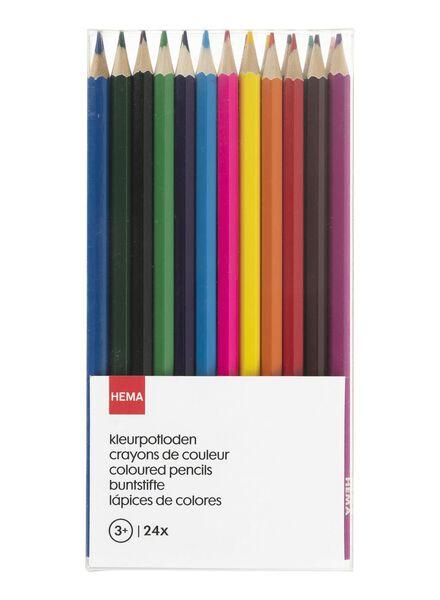 24-pak kleurpotloden - 15900012 - HEMA