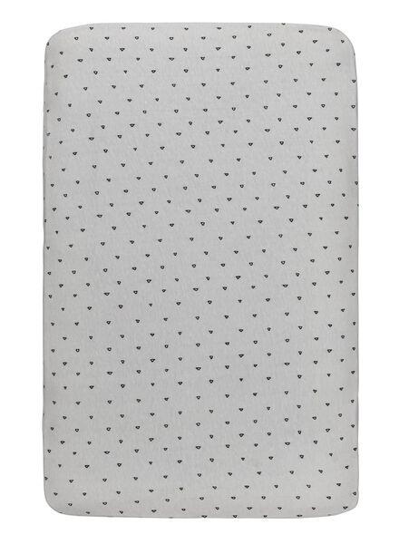 ledikant hoeslaken 60 x 120 cm - 33328015 - HEMA
