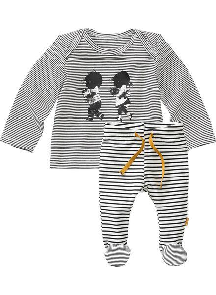 newborn Jip en Janneke set zwart/wit zwart/wit - 1000005711 - HEMA