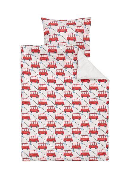 soft cotton peuterdekbedovertrek 120 x 150 cm - 5750099 - HEMA