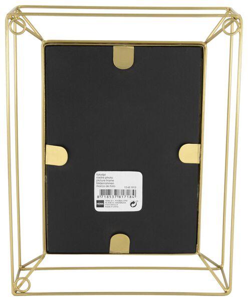 fotostandaard metaal 13x18 - goud - 13621013 - HEMA