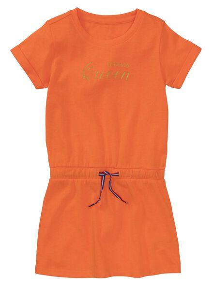 kinderjurk oranje oranje - 1000011933 - HEMA