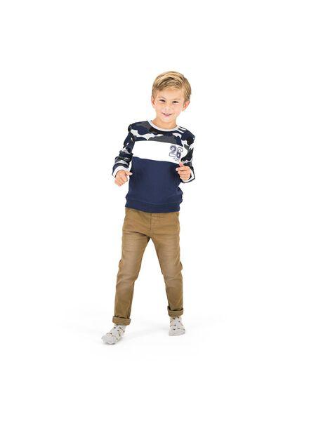 kindersweater blauw blauw - 1000013754 - HEMA
