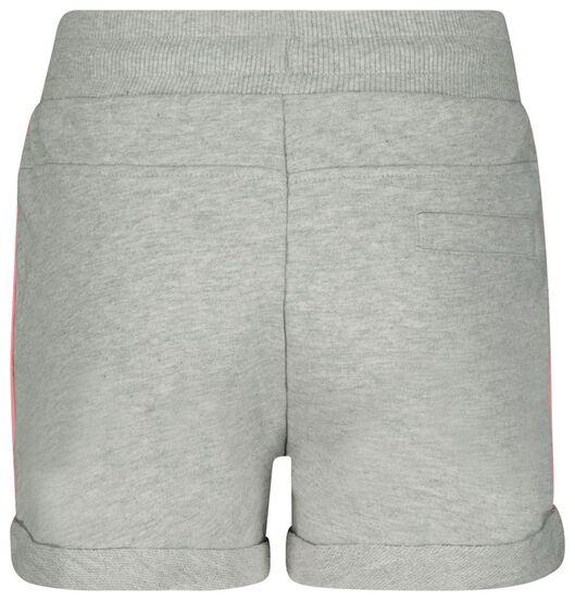kinder sweatshort grijsmelange 146/152 - 30855760 - HEMA