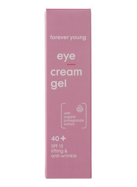 oogcrème gel forever young vanaf 40 jaar - 17870043 - HEMA