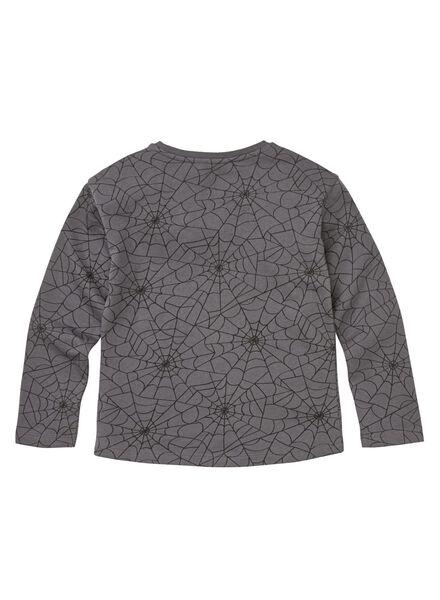 kindersweater donkergrijs donkergrijs - 1000010036 - HEMA