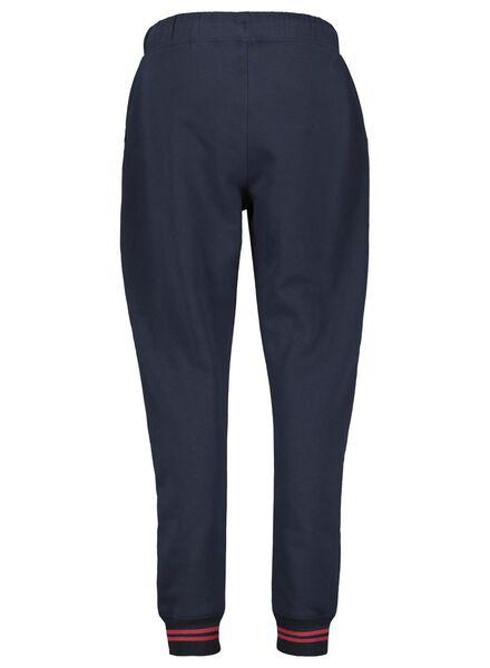 dames sweatbroek donkerblauw donkerblauw - 1000017126 - HEMA