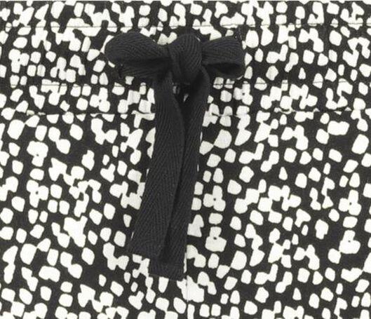 damesbroek zwart/wit zwart/wit - 1000019850 - HEMA