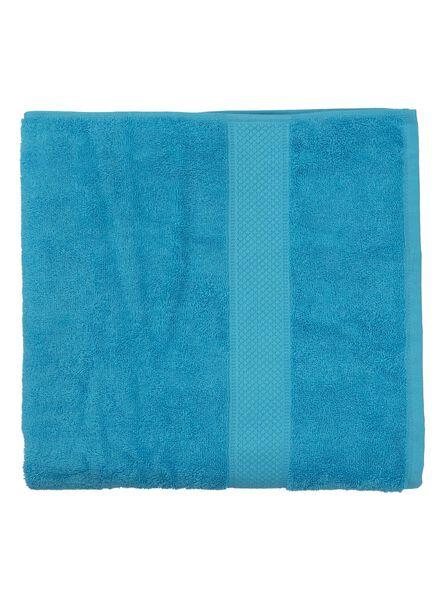 handdoek - 70 x 140 cm - zware kwaliteit - aqua - 5214605 - HEMA