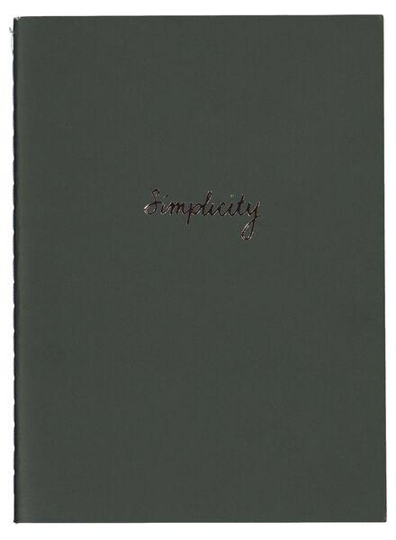 schriften A6 - gelinieerd - 3 stuks - 14136016 - HEMA