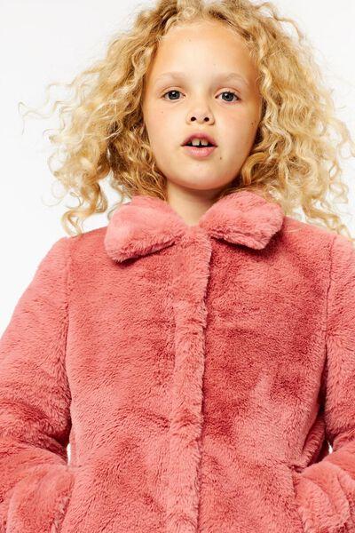 kinderjas imitatiebont roze roze - 1000024391 - HEMA