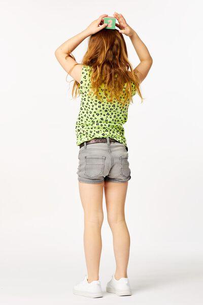 kinder t-shirt animal geel 158/164 - 30865849 - HEMA