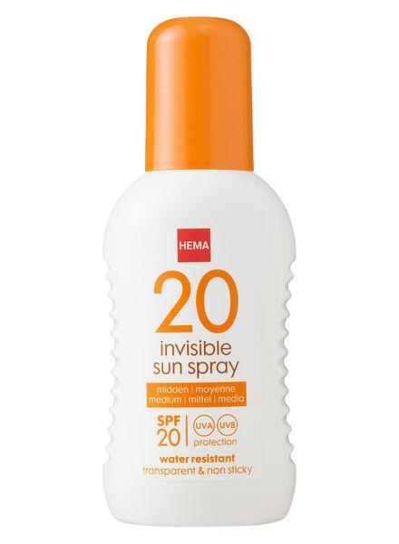 zonnemelk spray SPF 20 - 11610117 - HEMA
