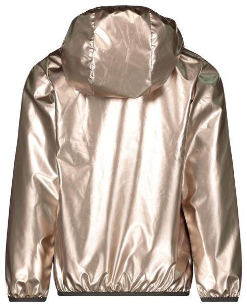 kinderjack met capuchon goud goud - 1000017854 - HEMA