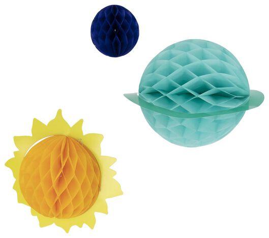 honeycombs space - 3 stuks - 14210150 - HEMA