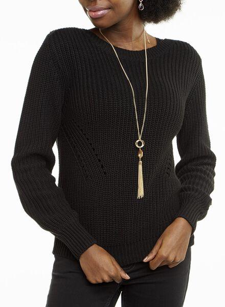 damestrui zwart zwart - 1000010915 - HEMA