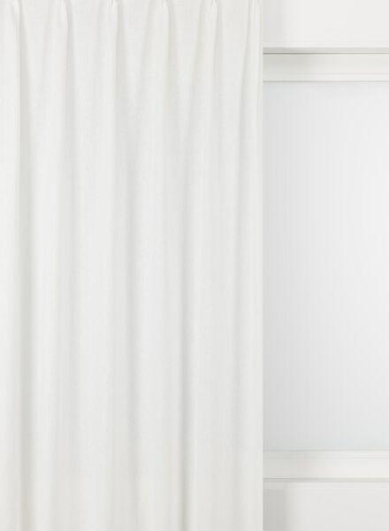 gordijnstof laren wit laren - 7222319 - HEMA