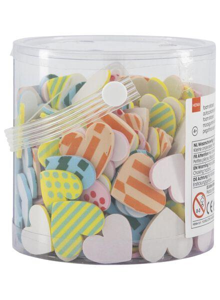 foam stickers hartjes - 15920025 - HEMA