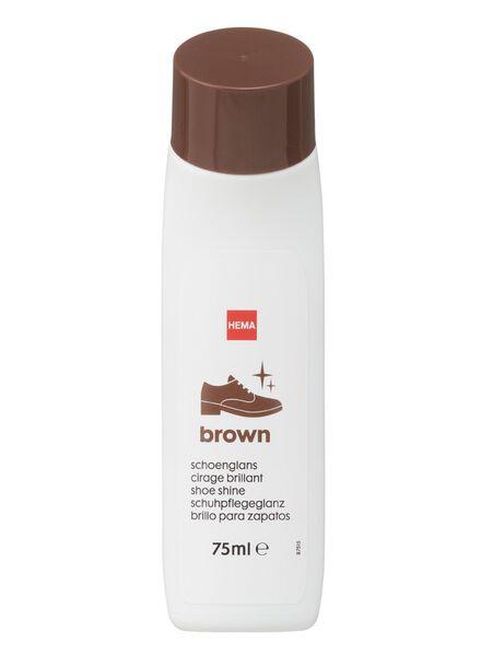 schoenglans bruin - 20500082 - HEMA
