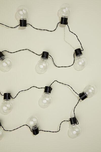 verlichtingssnoer met 20 ballen - 5 meter - 41810283 - HEMA