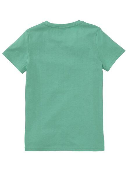 kinder t-shirt groen - 1000007272 - HEMA