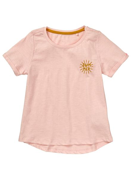 2-pak kinder t-shirts gebroken wit gebroken wit - 1000012628 - HEMA