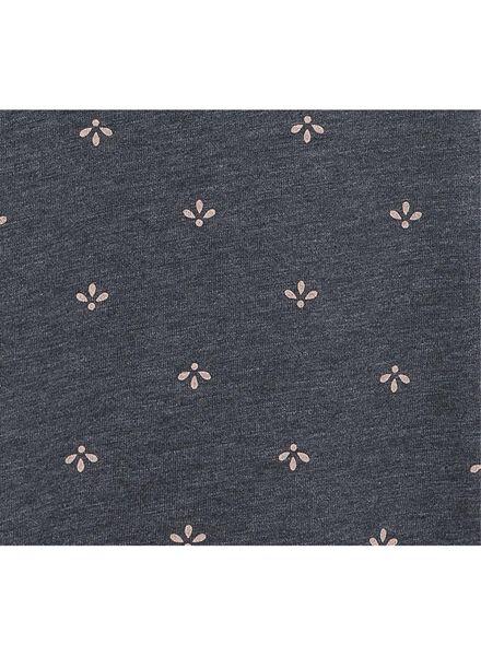 dames t-shirt donkerblauw donkerblauw - 1000003105 - HEMA